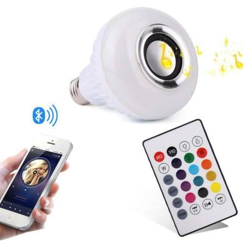 E27 LED Music Color Wireless Lamp CP