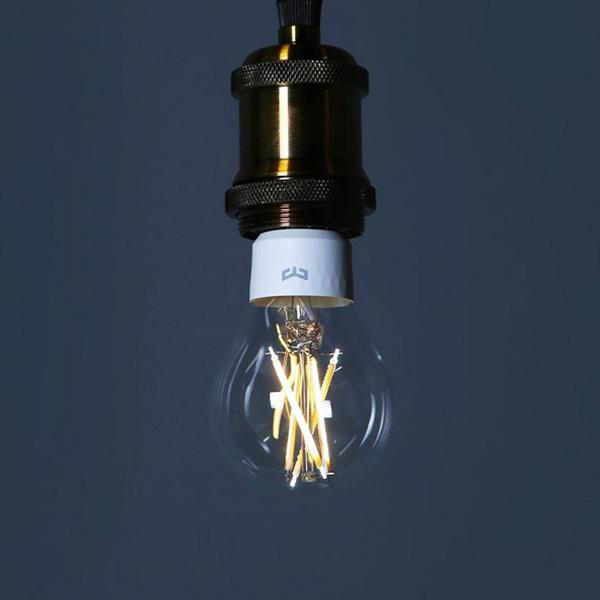 Yeelight <font><b>LED</b></font> <font><b>Filament</b></font> Lumens 6W <font><b>Bulb</b></font> Work Apple Homekit