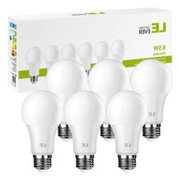 LE 8.5W Dimmable A19 E26 LED Light Bulbs 800 Lumens Daylight