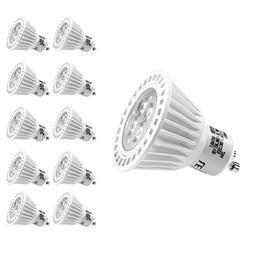 LE 10 Pack Dimmable GU10 LED Light Bulbs, 50W Halogen Bulbs