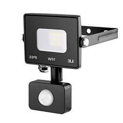 LE Outdoor LED Flood Light, Motion Sensor, IP65 Waterproof,