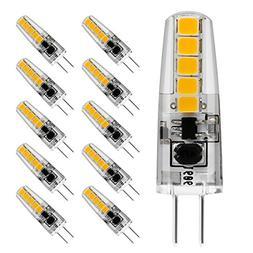 LE 12V G4 LED Light Bulbs Bi-Pin Light Bulbs, 2W Non Dimmabl