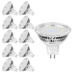 LE MR16 LED Light Bulbs, Full Glass Cover, 35W Halogen Equiv