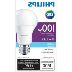 Philips LED 100W Equivalent Light Bulb Free Shipping