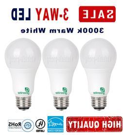 LED 3 Way Bulb 40w 60w 100w Replacement Warm White 3000k E26