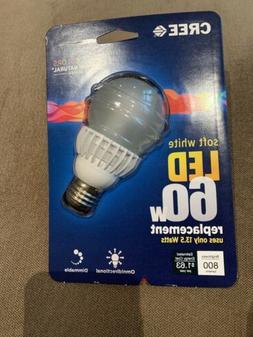 CREE LED 60w  Light Bulb - New!