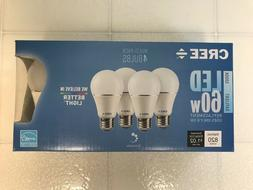 CREE LED 60W = 9W Daylight DIMMABLE 60 Watt Equivalent A19 5