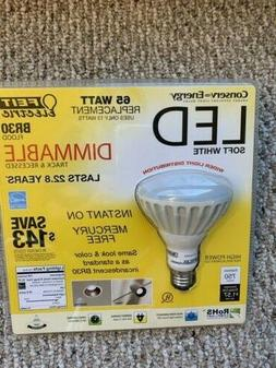 feit electric LED 65 Watt REPLACEMENT BR30 flood bulb soft w