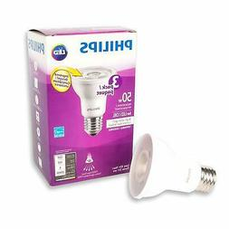 Philips LED 6W  PAR20 Bright White Bulb, 6 Pack