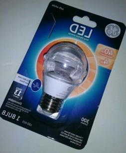 GE LED A15 40W Ceiling Fan Clear Bulb P/N 37933 Dimmable 300