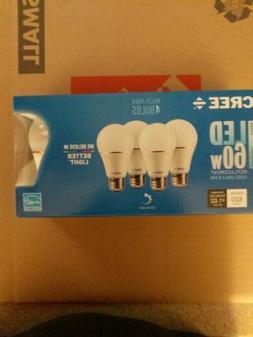 Cree LED A19 Light Bulbs 8.5w 60w Dimmable Daylight