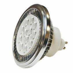 LED AR111 GU10 Spotlight QR111 Light Bulb 15W 90-240V 2700K/