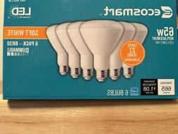 Ecosmart LED BR30 2700K Flood Soft White 6 Pk NEW 65 Wt Eq.
