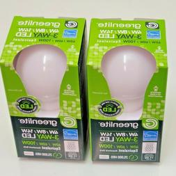 LED Bulb 3 Way 40/60/100W - Replacement LED 2-PACK BRAND NEW