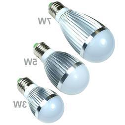 LED Bulb White Cool Energy Saving Light Lamp E26 / E27  3W 5