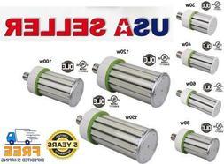 LED CORN BULB 80W-100W-120W-150W 360°E39 BASE 5000K UL CUL
