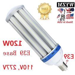 LED Corn Light Bulb E39 60/80/100/120W Retrofit HID Gym Chur