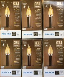 LED Decorative Vintage Type Kichler 40W Equivalent Dimmable