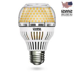 SANSI LED Dimmable Light Bulb 200W Equvi A19 3000K Bright De