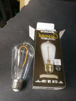 LED Edison Bulb ST18, Curved Vintage Hairpin Filament, 2 wat