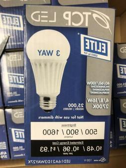 LED Elite Series by TCP 3-Way Bulb
