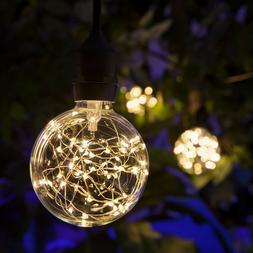 LED Fairy Light Bulb Multiple Color Home Patio Garden Globe