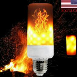 led flicker flame light bulb e27 simulated
