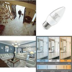 LED Light Bulb 40 Watt Equivalent B11 Dimmable Energy Star S