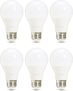 LED Light Bulb A19 40 Watt  Amazon Basics 6-Pack.