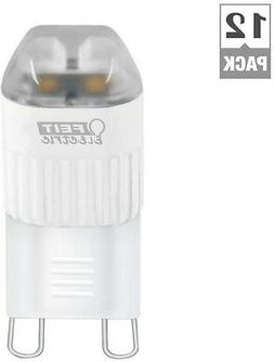 Feit Electric LED Light Bulbs Case of 12 Energy Save Equival