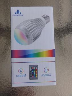 Warmoon LED Light Bulbs E27 10W Color Changing Lighting Dimm