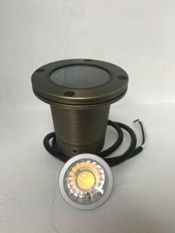 LED Low Voltage Solid brass well light- Outdoor Landscape Li