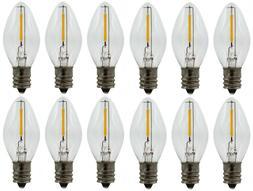 LED Night Light Bulbs , C7 Replacement Bulbs, 7watt Equivale