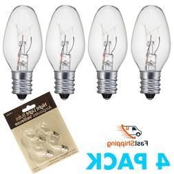 led night light bulbs c7 candelabra bulb