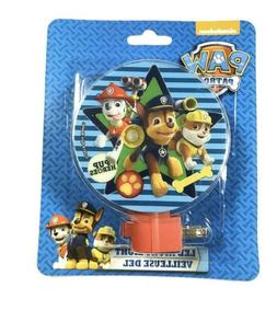 Paw Patrol Led Night Light New With Bulb Included