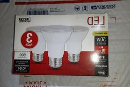 Feit Electric LED PAR20 Non-Dimmable Flood Bulbs. 3 Pack. 30