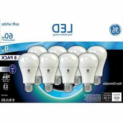 led soft white bulb a19 60w white