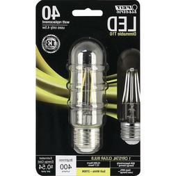 LED SOFT WHITE T10 40W Equivalent 4.5W Feit Electric TUBULAR