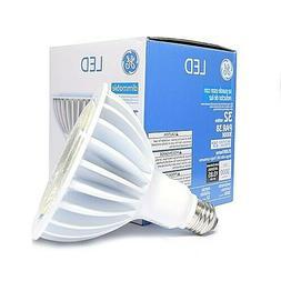 GE LED Spotlight Bulb 32 Watts PAR 38 3000K 15 Degree Dimmab