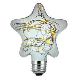 Sunlite LED Star Warm White 1.5w Decorative Light Bulb - E26