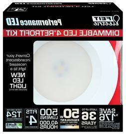 Feit LEDR4/3K LED 4-Inch Dimmable Retrofit