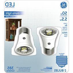 GE Lighting 29076 Medium-Base Clear PAR16 Curio LED Bulb, Wa