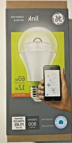 GE Link A19 LED BULB 60W / 12W  Smart Home