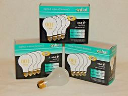LOT OF 12 - HALCO Incandescent Frosted Light Bulbs - 100W -