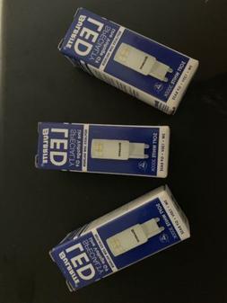 LOT OF 3 Bulbrite LED Line Voltage G9 Bulb Soft White