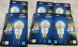 Lot of 6 CREE 40W Equivalent Soft White 2700K A19 Dimmable L