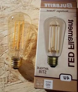 Bulbrite led Edison Type 4 watt bulb