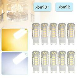 1/5/10PACK G9 2835 SMD LED Bulb Bi-Pin Base Halogen Equivale