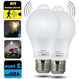 Motion Sensor Light Bulb 5W Smart LED Bulbs PIR Detector Lam