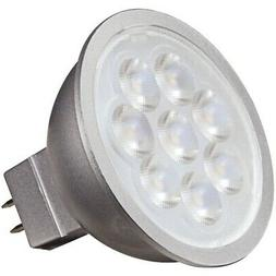 Satco 6.5W MR16 LED Dimmable 3000K Warm White Light Bulb